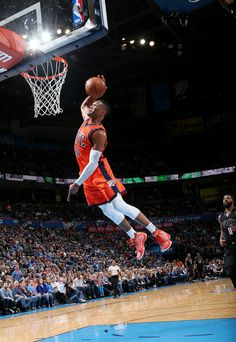 Westbrook with the slam!!!!