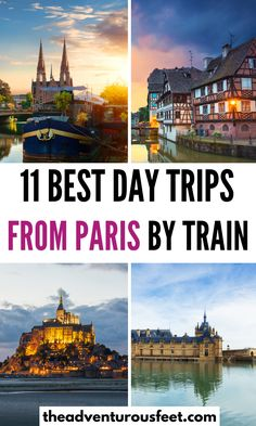 Want to explore places beyond Paris? Here are the best day trips from Paris not to miss.| Paris day trips by train| day trips from Paris |day trips from Paris by train | best day trips from Paris | Paris day trips things to do| train day trips from Paris | cities near Paris to visit | easy day trips from Paris |Paris day tours| places to visit in Paris| Weekend trips from Paris| Places in Paris| things to do in Paris| Paris bucket list #theadventurousfeet Paris France Travel, Paris Travel Tips, Europe Travel Guide, Travel Destinations, Beautiful Places To Travel, Amazing Places, Cool Places To Visit, Paris Things To Do, Day Trip From Paris