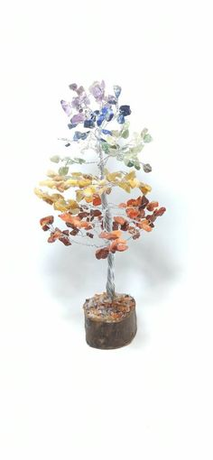 Color Plata, Place Cards, Place Card Holders, Base, Wood Trunk, Wooden Tree, Store, Hand Made, Colors
