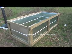 ▶ Building a Metal Raised Bed for the Vegetable Garden Video.wmv - YouTube
