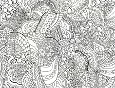 Adult Coloring Pages: Abstract-3