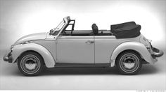 By 1972, approximately four million Beetles had been sold in the U.S. But VW was increasingly being overtaken by Japanese carmakers building vehicles with superior quality and technology at a lower price. By 1977, U.S. Beetle sales had declined to fewer than 20,000 a year (down from over 90,000 just two years earlier) as the cost of assembly increased and VW shifted its small-car emphasis to the front-drive Golf, introduced in 1974 #volkswagen #car #usedcar #carservice #autoservice