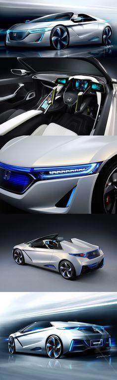 Honda EV-STER Concept. I want one!