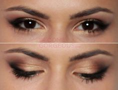 Selena Gomez Signature Cat Eye Makeup