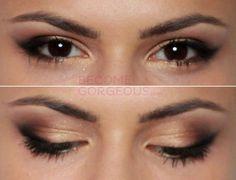 Selena Gomez Signature Cat Eye Makeup
