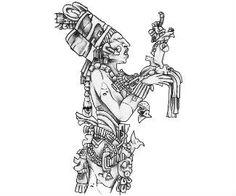 Aztec Tattoo Design Body Stencil Art