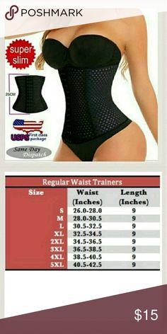 762fc59d03f 4 Spiral Steel Boned Waist Training Top Quality!! 4 Spiral Steel Boned Waist  Training