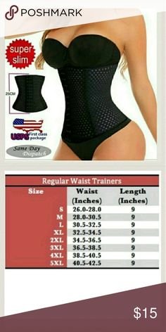 4 Spiral Steel Boned Waist Training Top Quality!!  4 Spiral Steel Boned Waist Training Cincher Body Shaper Underbust Corset ...3 hooks  Color:?Black/Beige Condition: 100% Brand New Material:95% Ployester 5% SPANDEX Underwear Size:S/M/L/XL/2L/3XL/4XL/ 5XL Feature:Underbust Ocassion:party,celebration,wedding,birthday,dinner,show Garment care:Hand-washing only Highlights:4 Flexible Sprial Steel Boned  sprial?steel?boned?is?more?soft?than?steel?bone Other