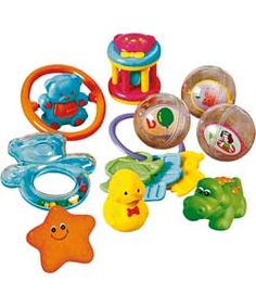 Buy Beanstalk Baby 10 Piece Gift Set at Argos.co.uk - Your Online Shop for Baby activity toys, Toys under 10 pounds, 2 for 15 pounds on Toys, Pre-school.