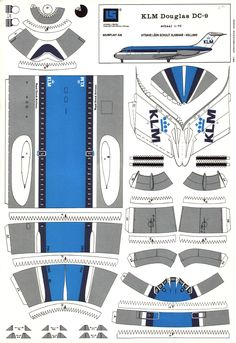 Risultati immagini per paper plane templates Paper Airplane Models, Paper Model Car, Model Airplanes, Paper Models, Paper Plane, 3d Paper, Paper Toys, Hobbies And Crafts, Diy And Crafts