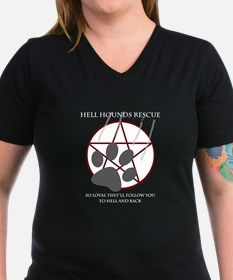 Hell Hounds Rescue wt Shirt for