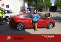 https://flic.kr/p/JuSS2m   Happy Anniversary to Matoka on your #Hyundai #Elantra from Vincent Bradford at FIAT of Dallas!   deliverymaxx.com/DealerReviews.aspx?DealerCode=F741