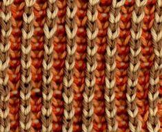 Four-Color Plain Brioche - Knittingfool Stitch Detail