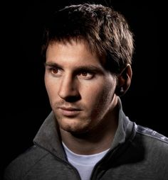 Soccer star Lionel Messi, photographed in Barcelona.