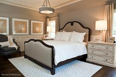 "Paint color is ""Briarwood E-73 by Benjamin Moore"", in a satin finish."