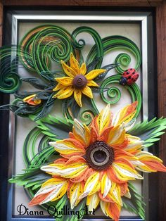 Facebook: https://www.facebook.com/pages/Diana-Quilling-Art/210442952462072?ref_type=bookmark   Quilling Cafe: http://quillingca...