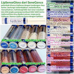 LipSenseGloss glossy matte pearl sand glitterpink glittergold glittersilver rose orchid bougainvillea