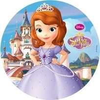 Vafe tort / Poze comestibile Sofia 1 / Sofia The First Toy Story Party, Toy Story Birthday, Princess Birthday, Sofia The First Birthday Party, Sofia Party, Tangled Party, Tinkerbell Party, Princesa Sophia, Geek Party