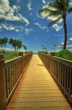 Ka'anapali Boardwalk