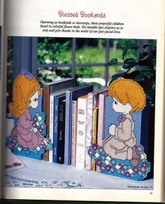 Precious Moments In Plastic Canvas Pattern By Grammysyarngarden 800