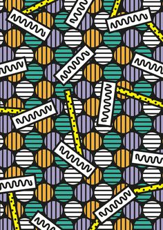 Hello, sorry for the two weeks of nothing, just been moving into a new appartement and it takes a bit of time to get internet but just got it today. So here is a new pattern for the next Lowup Party with Morcee, good to have some grime in. Surface Pattern, Pattern Art, Surface Design, Pattern Design, Graphic Prints, Poster Prints, Maps Posters, Graphic Design, Textile Patterns