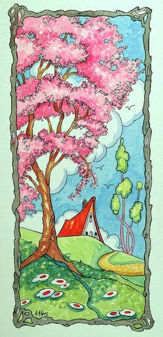 Seasons #3 Spring Storybook Cottage Series