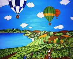 Cuadros naif | Arte Naif de Ana Sánchez Marín Henri Rousseau, Colors Of The World, Basement Painting, Tuscany Landscape, City Folk, What The World, Naive Art, Impressionism, Folk Art