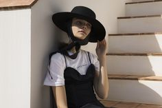 The Portuguese Woman / featuring Margarida in the 'Oui OF Course' T-shirt.   [OF by Amanda Shadforth]