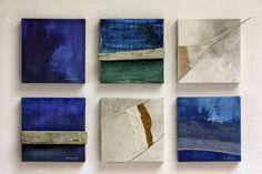 Núria Rossell, mixt media on canvas (Nau Fràgils) Art, Painting, Canvas