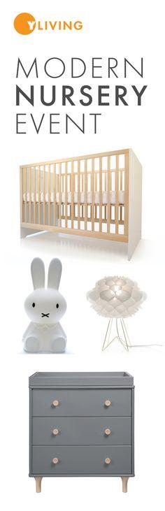 Modern Nursery Event – Save up to 20% through February 15, 2016. http://www.yliving.com/modern-kids-room.html #YinTheWild