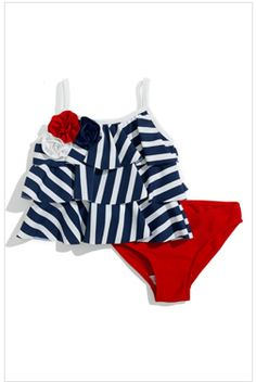 baby girl / americana swim suit!