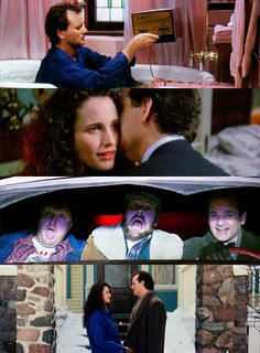 I'm not *the* God… I don't think. Funny Movies, Great Movies, Movies Showing, Movies And Tv Shows, Harold Ramis, Movies Worth Watching, Tv Couples, Groundhog Day, Martin Scorsese