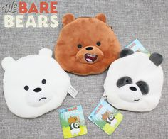We Bare Bears Grizzly plush keychain pendant wallet coin bag kids Cute Gifts Coraline Art, Diy Tumblr, We Bear, We Bare Bears, Bff, Coin Bag, Kids Bags, Plushies, Cute Gifts