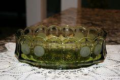 1970s Fostoria Oval Dish//Coin Pattern Fostoria Dish//Vintage Fostoria Dish by TresorsJeAmour on Etsy https://www.etsy.com/listing/266694116/1970s-fostoria-oval-dishcoin-pattern