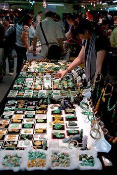 Jade market, Taipei, Taiwan