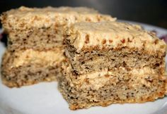 Diós-grillázskrémes torta recept képpel. Hozzávalók és az elkészítés részletes leírása. A diós-grillázskrémes torta elkészítési ideje: 90 perc
