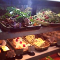 Sweetie treats or savoury fresh salads? Whichever you prefer we have got it! Come down and see our selection