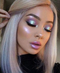 62 Amazing Glitter Makeup Ideas for Women Einfache Make-up-Ideen; Festival Make-up; Prom Make-up sieht aus. Makeup Goals, Makeup Inspo, Makeup Inspiration, Makeup Tips, Beauty Makeup, Hair Beauty, Makeup Ideas 2018, Makeup 2018, Queen Makeup