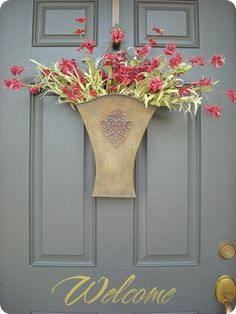 Spring florals - and that's our very popular Flower Market Door Bucket & Must have hanger - available at http://bhall.willowhouse.com