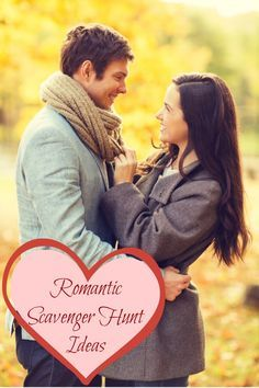 Romantic Scavenger Hunt Ideas - fun ways to plan a special date night with your significant other. Includes a free printable scavenger hunt game!