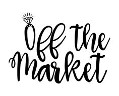 Free SVG cut file - Off the Market