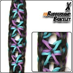 X Rubber Band Bracelet