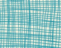 Summersville - Metro Check Weave Turquoise  by Lucie Summers from Moda - 1 yard. $9.50, via Etsy.
