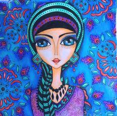 Sisters Art, India Art, Hippie Art, Pencil Art Drawings, Arte Popular, Angel Art, Art Journal Inspiration, Painting For Kids, Art Plastique