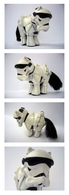 Anyone that likes My Little Pony and/or Star Wars (like me) would appreciate this. Just classic!