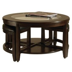 I pinned this 3 Piece Gaston Cocktail Table Set from the Elegant Living Room event at Joss & Main!