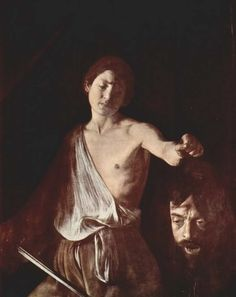 Image result for caravaggio david with the head