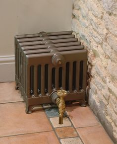 This Victorian 9 column, cast iron radiator is perfect for high output requirements in limited spaces. Victorian Radiators, Traditional Radiators, Cast Iron Bath, Copper Bath, Column Radiators, Radiator Valves, Roll Top Bath, Cast Iron Radiators, Designer Radiator