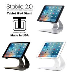 iPad Pedestal Stand with toilet paper holder is a must have ...