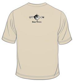 Our Global Harmony Logo small on the back Logo, Long Sleeve, Sleeves, Mens Tops, T Shirt, Fashion, Supreme T Shirt, Moda, Logos